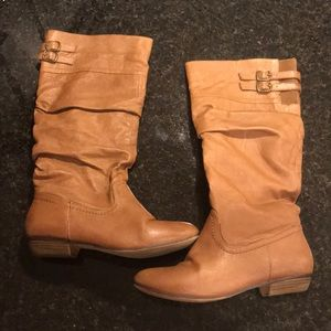 Shoes - Brown Leather Boots